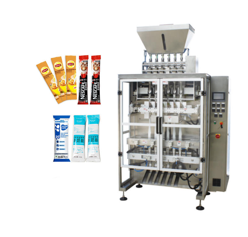 Automatic small bag packets coffee powder Multi-Lane packiaging machine