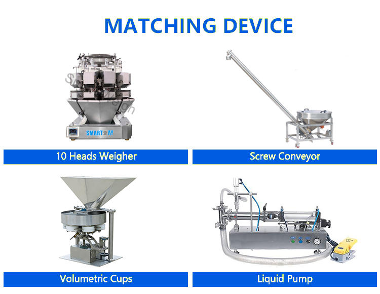 Smartweigh Pack bagging machine suppliers China manufacturer for food weighing