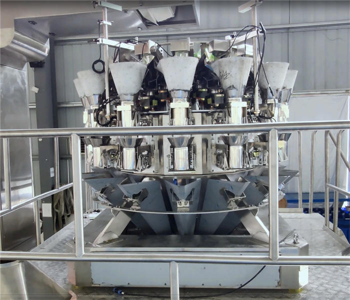 chopstick weigher 16 head weigher for weighing sausage stick-shaped Products