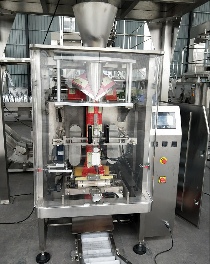 SW-P620 Fully automatic1 kg - 20kg granule packing machine with pillow bag