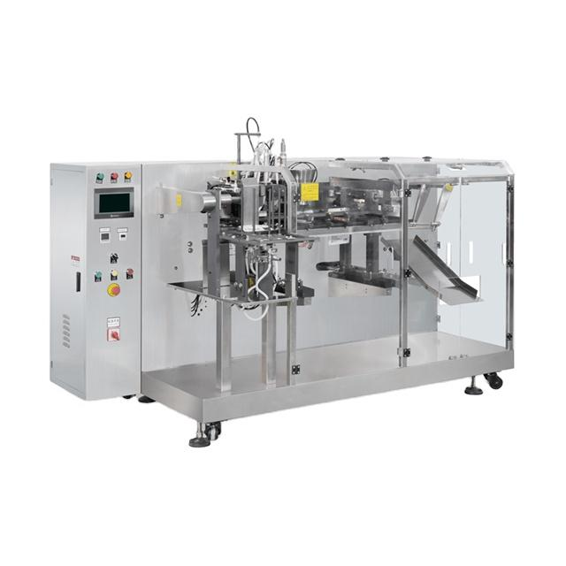 Auto  Horizontal Premade Pouch Packaging Machinery for Liquid Powder Granule