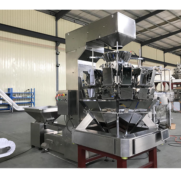 High sensitivity multihead weigher white sugar filling machine for salt spice powder