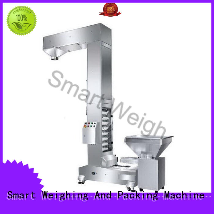 Smart Weigh durable scaffolding platform bucket for foof handling