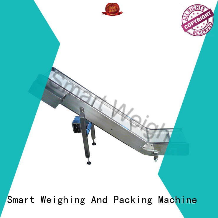 incline conveyor aluminum work platform Smart Weigh manufacture