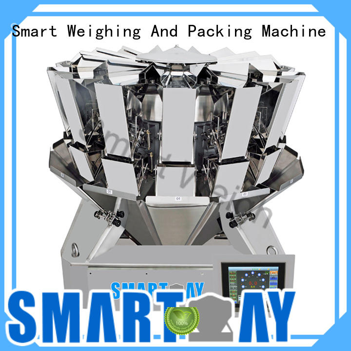 Smart Weigh discharge multi head scales with good price for food packing