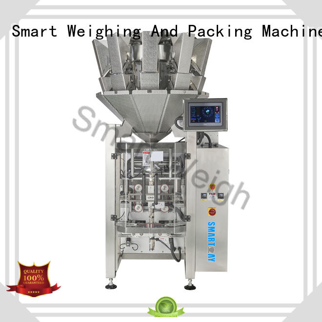 Smart Weigh packing pouch packing machine free quote for food labeling