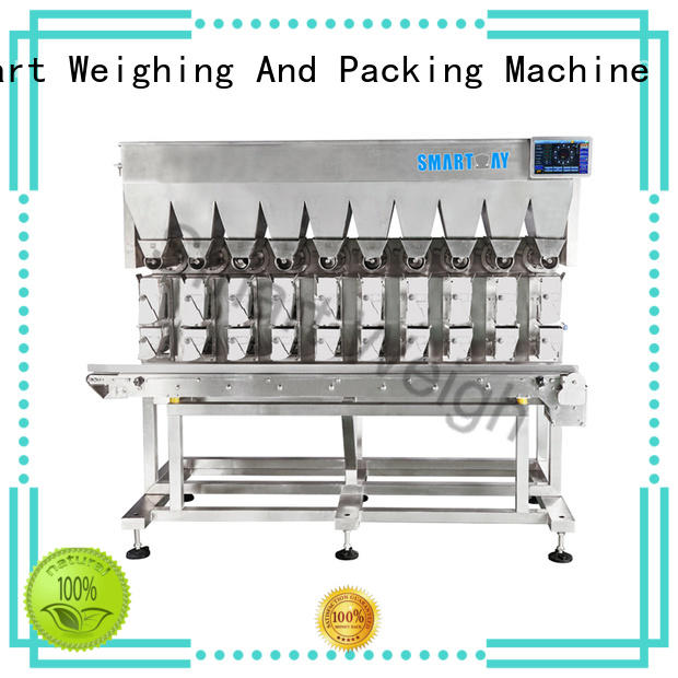 Smart Weigh precise linear combination weigher with good price for foof handling