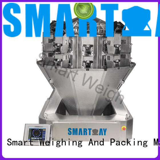 adjustable small multi head weigher pet from China for food weighing