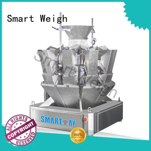 Smart Weigh twin bulk multi head weigher inquire now for food labeling