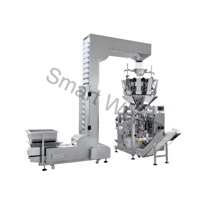 Smart Weigh Smart Weigh SW-M10P42 Combined 10 Head Weigher Packing Machine Packing Machine image1