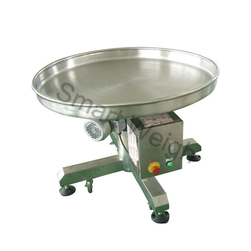 Smart Weigh Sw-b5 Rotary Collection Table