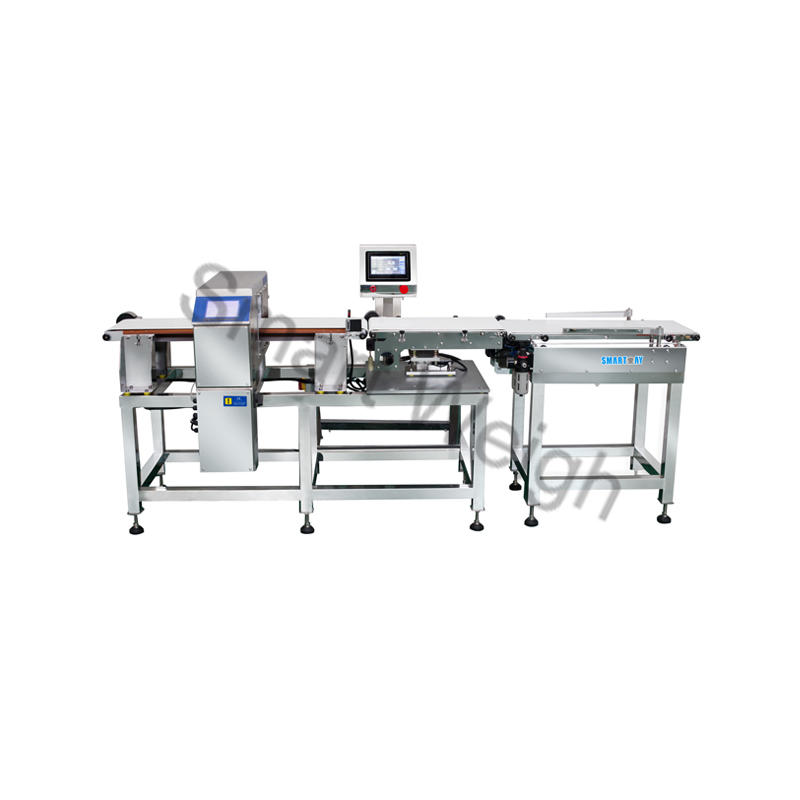 Smart Weigh Combined Metal Detector and Check Weigher Machine