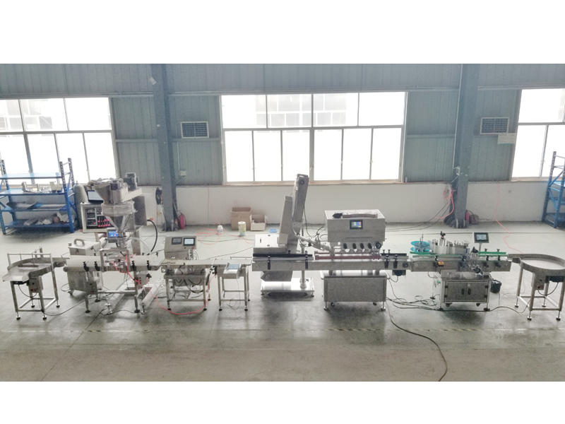 Full Automatic Bottle Packing Line