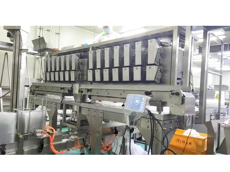 Smart Weigh Beef In Tray Packing Machine And System