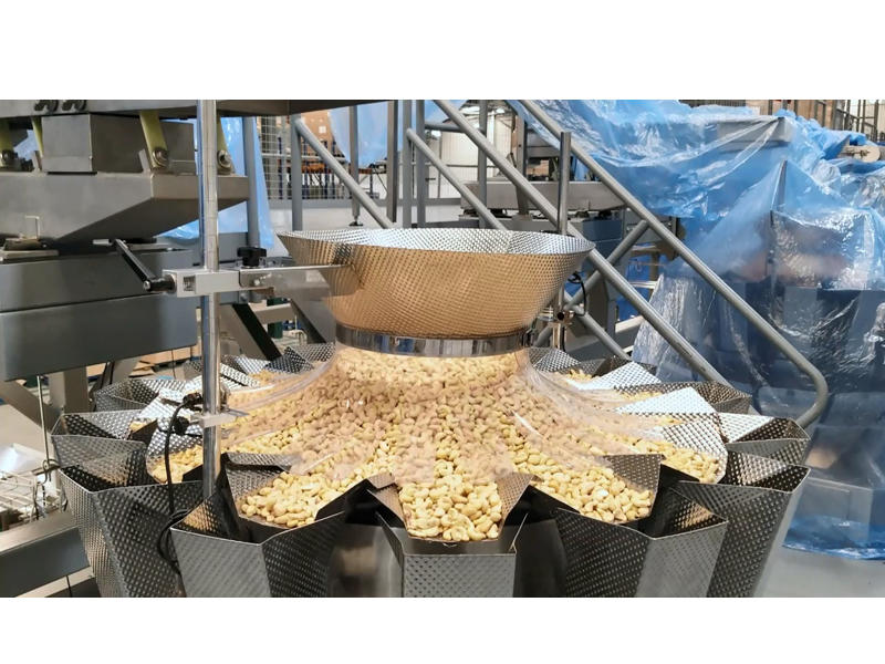 Smart Weigh Cashew Nuts Quad-sealed Bag Packing Machine And System