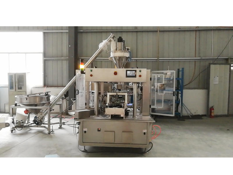 Auger Filler Powder Doypack Packing Line