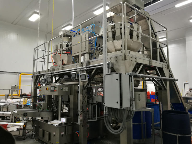 Meat & Vegetables & Sauce Mixture Packing Line