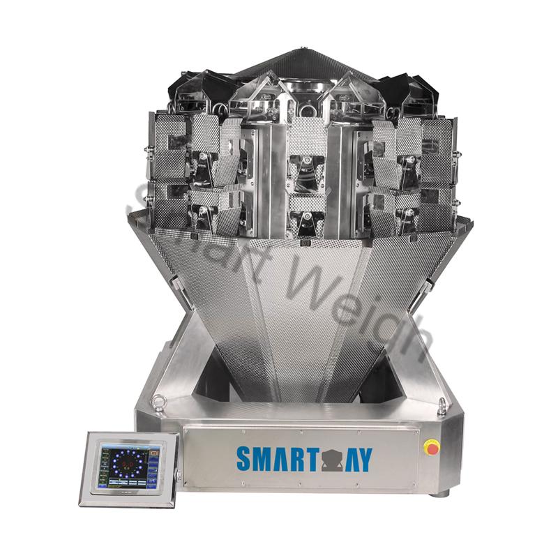 Smart Weigh Smart Weigh SW-M10S Screw 10 Head Multihead Weigher Multihead Weigher image9