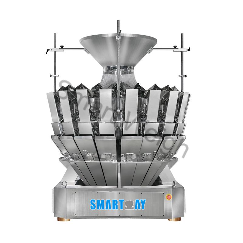 Smart Weigh Smart Weigh SW-M20 Twin Discharge 20 Head Multihead Weigher Multihead Weigher image12
