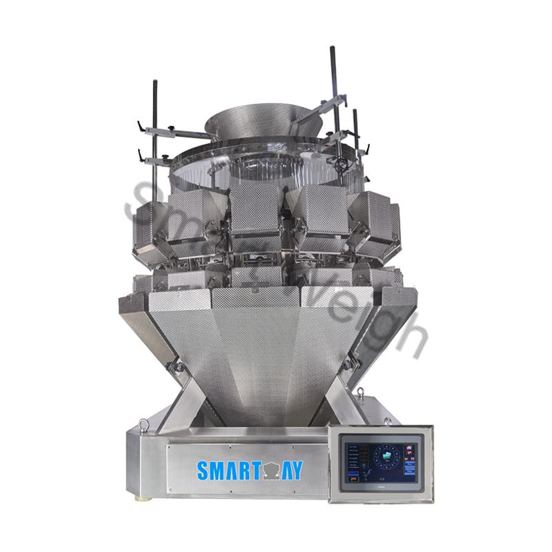 Smart Weigh Smart Weigh SW-ML14 Salad 14 Head Multihead Weigher Multihead Weigher image14
