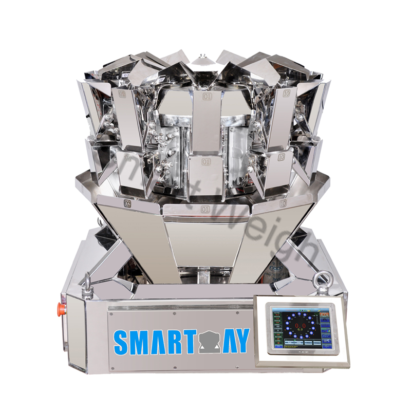 Smart Weigh Smart Weigh SW-MS10 Accurate Mini 10 Head Multihead Weigher Multihead Weigher image17