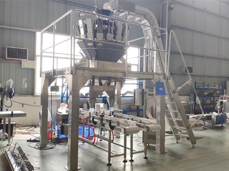 16 Head Multihead Weigehr Tray Filing Line