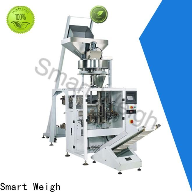 Smart Weigh vertical automatic bagging system with good price for food labeling