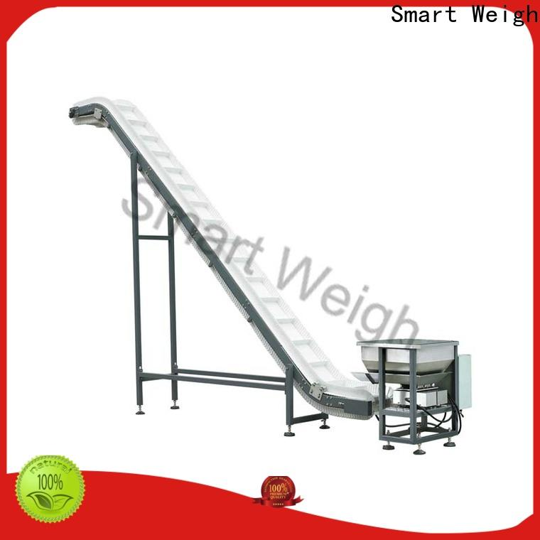 Smart Weigh grade output conveyor with good price for foof handling