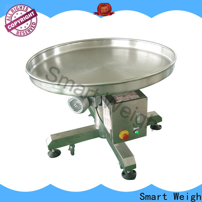 Smart Weigh easy-operating conveyor manufacturers with good price for food labeling