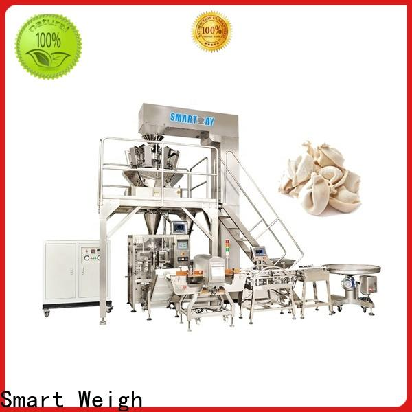 Smart Weigh easy operating sugar packing machine for food labeling