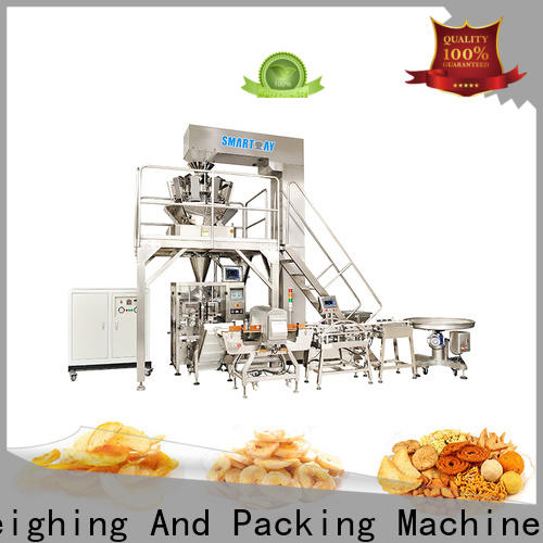 Smart Weigh top vertical packing machine price suppliers for chips packing