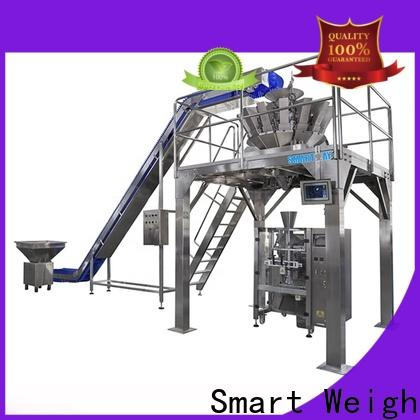 Smart Weigh stable plastic pouch packaging machine with cheap price for food weighing