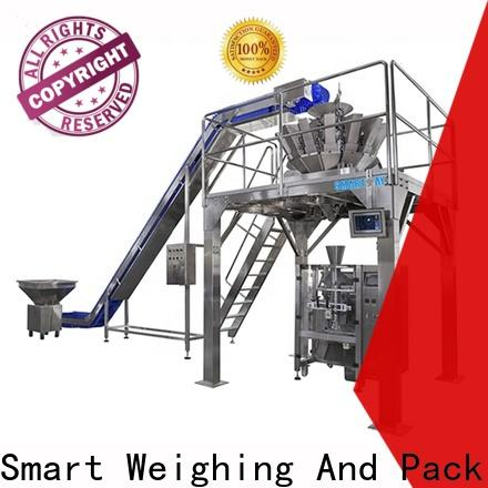 Smart Weigh high quality wrapping machine with good price for food packing