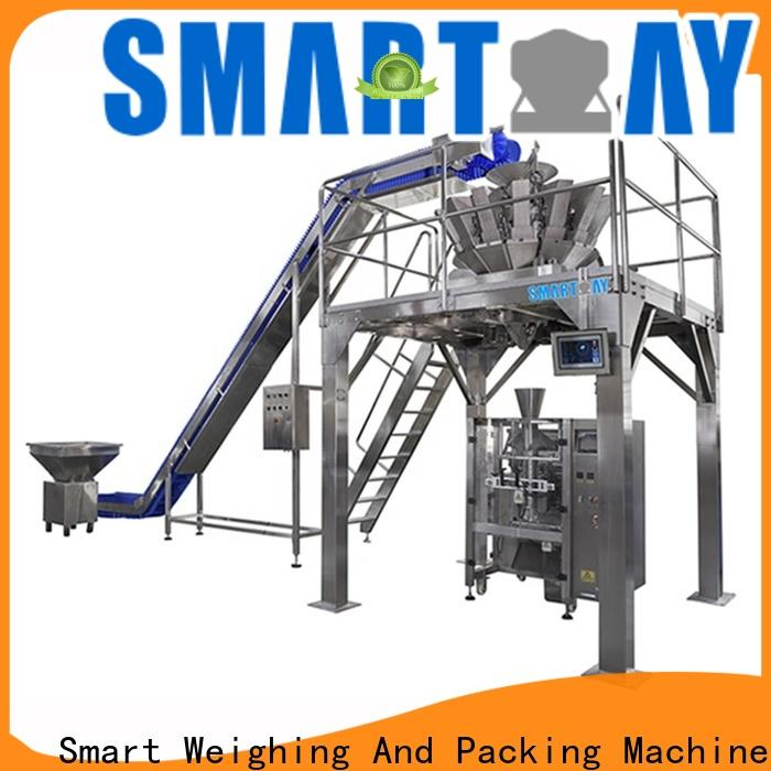 stable biscuit packing machine structure with good price for food weighing