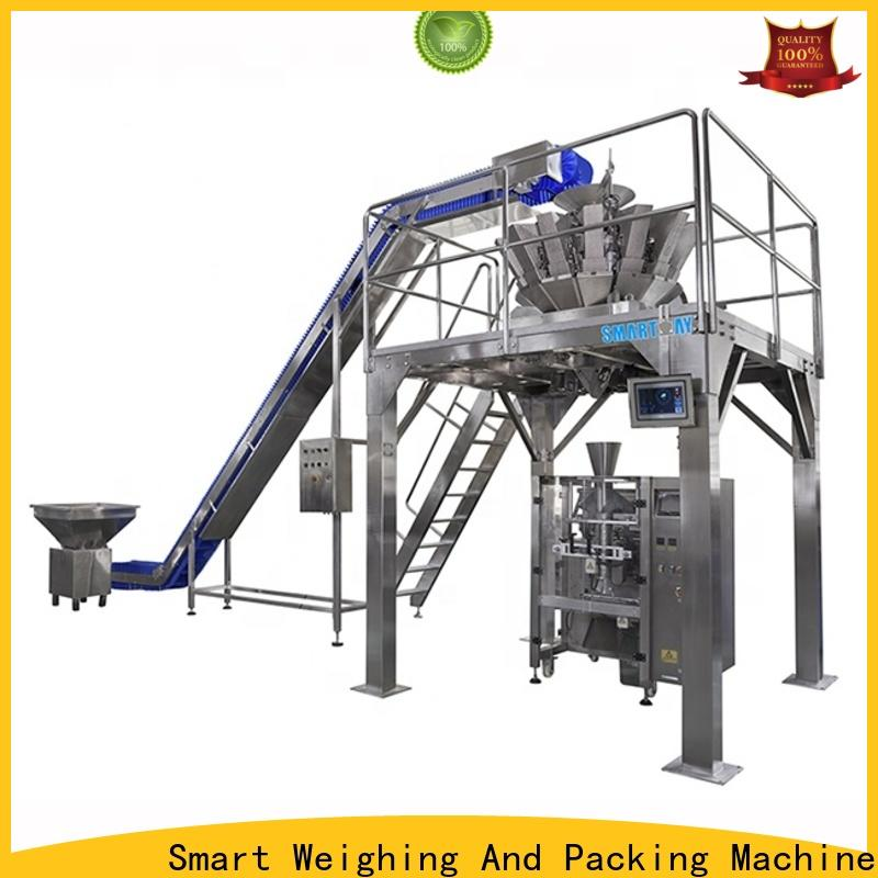 stable wrapper packaging machine 220v50hz for food weighing