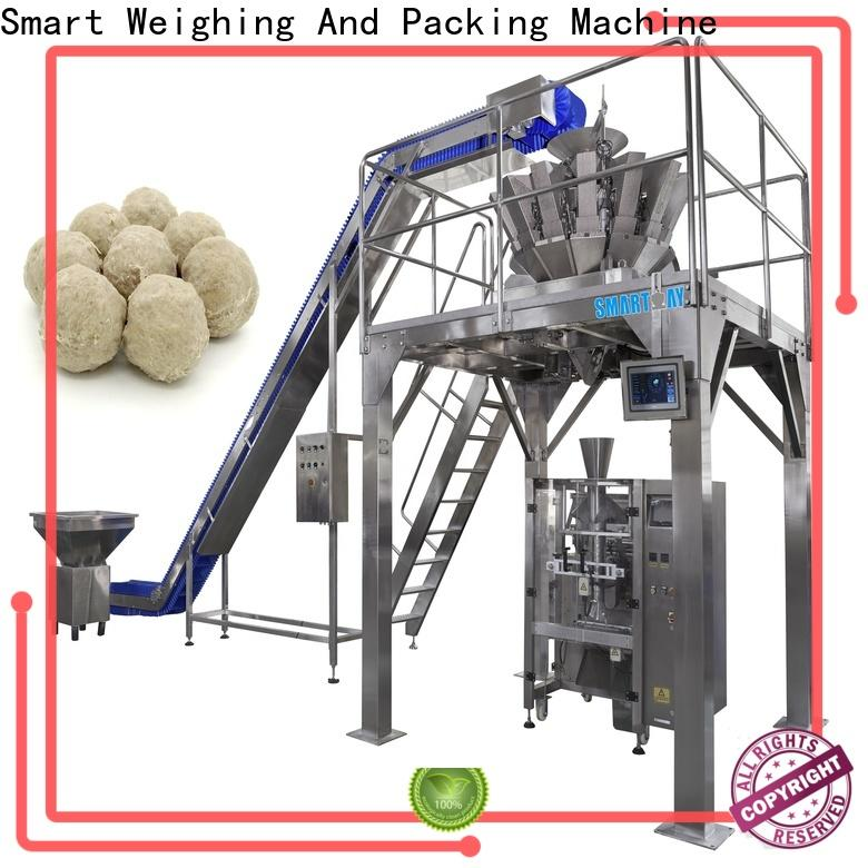 Smart Weigh dry roll packing machine for food weighing