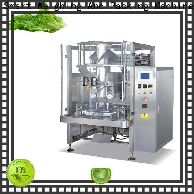 Smart Weigh screw vertical form fill and seal machines suppliers for frozen food packing