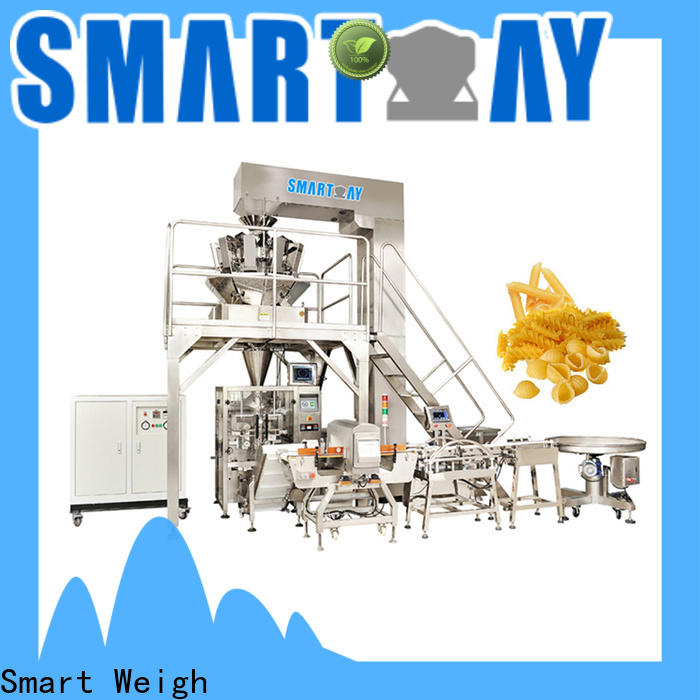 Smart Weigh quantitative vertical packaging machine for salad packing