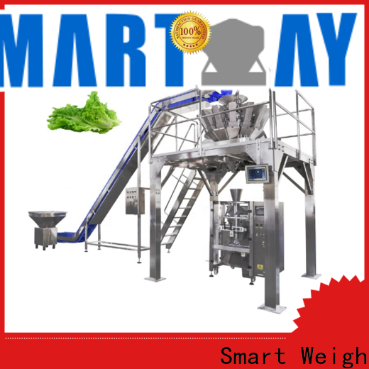 Smart Weigh best pouch packing machine for salad packing