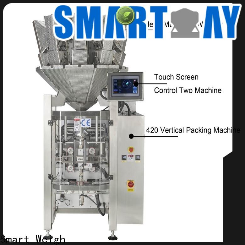 Smart Weigh newest vffs packaging machine for chips packing