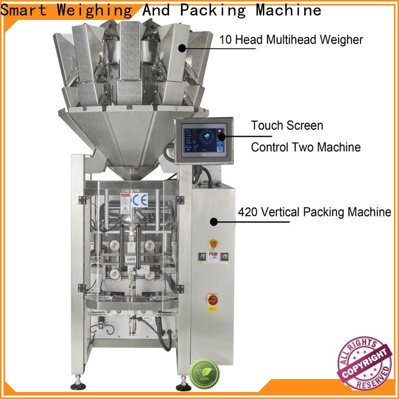 Smart Weigh top vertical form fill seal machine for business for frozen food packing