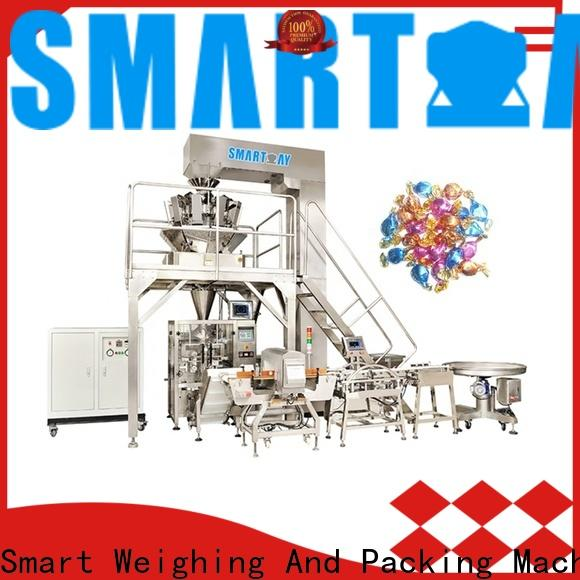 Smart Weigh small vertical packaging machine for food weighing