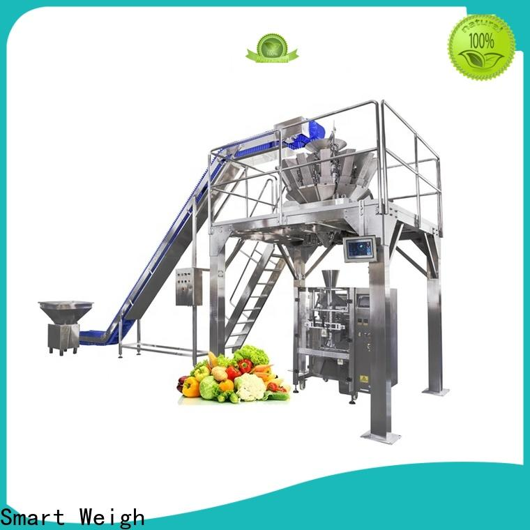 Smart Weigh melon vertical form fill seal packaging machines manufacturers for salad packing
