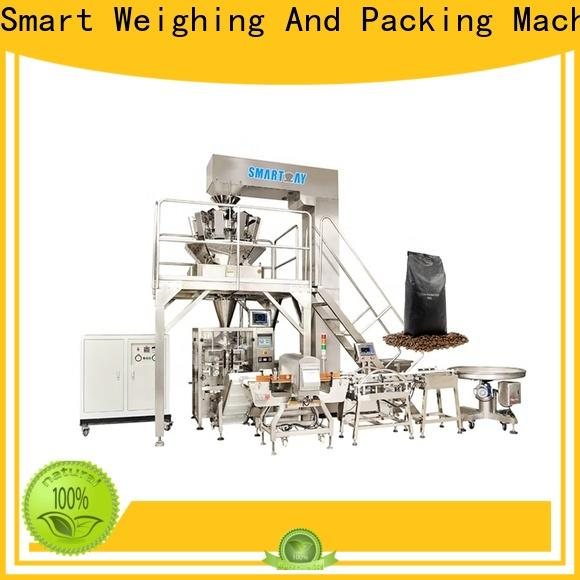 top pouch packing machine line supply for food weighing