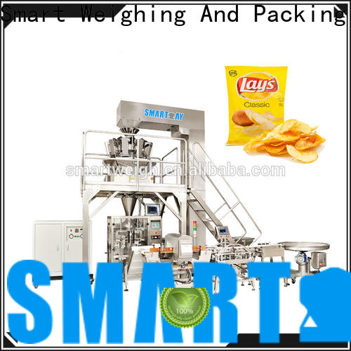 Smart Weigh flakes vertical vacuum packaging machine manufacturers for meat packing