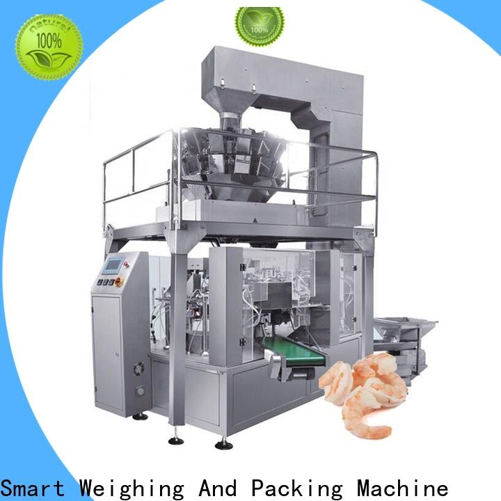 Smart Weigh top chocolate packaging machine for frozen food packing