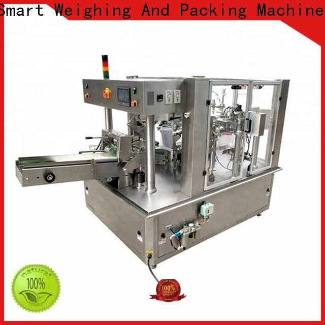 Smart Weigh breakfast filling and sealing machine for food packing