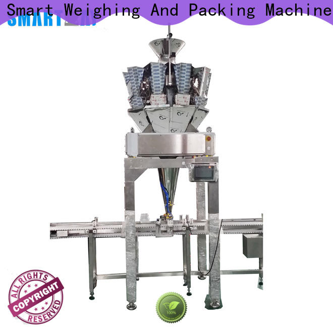 Smart Weigh tray can filling line company for food packing