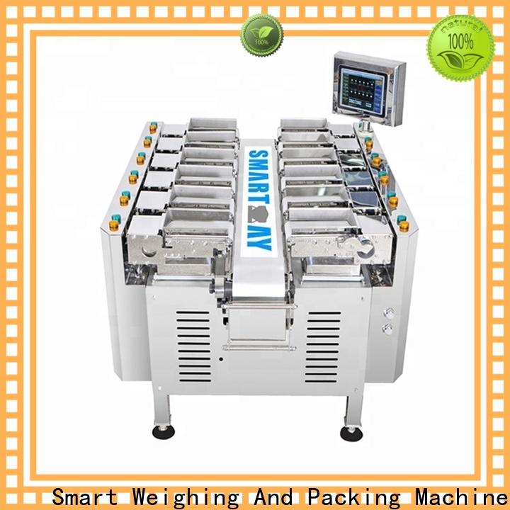 precise multihead weigher hopper factory for food labeling