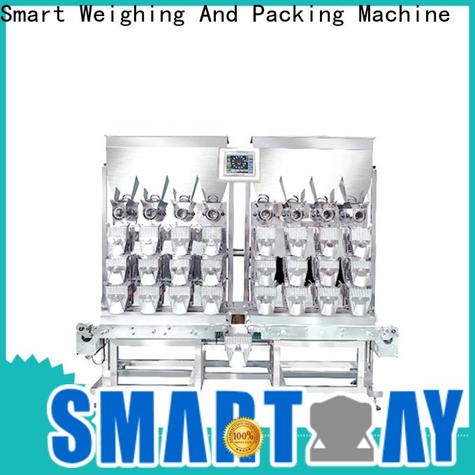 Smart Weigh adjustable weigher machine factory for foof handling